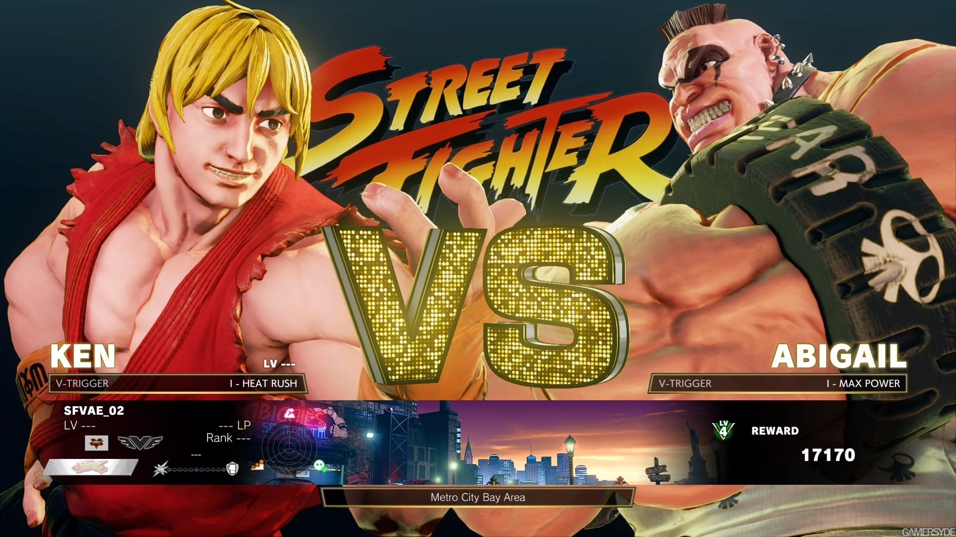 Galerie Street Fighter V: Arcade Edition - Images Arcade