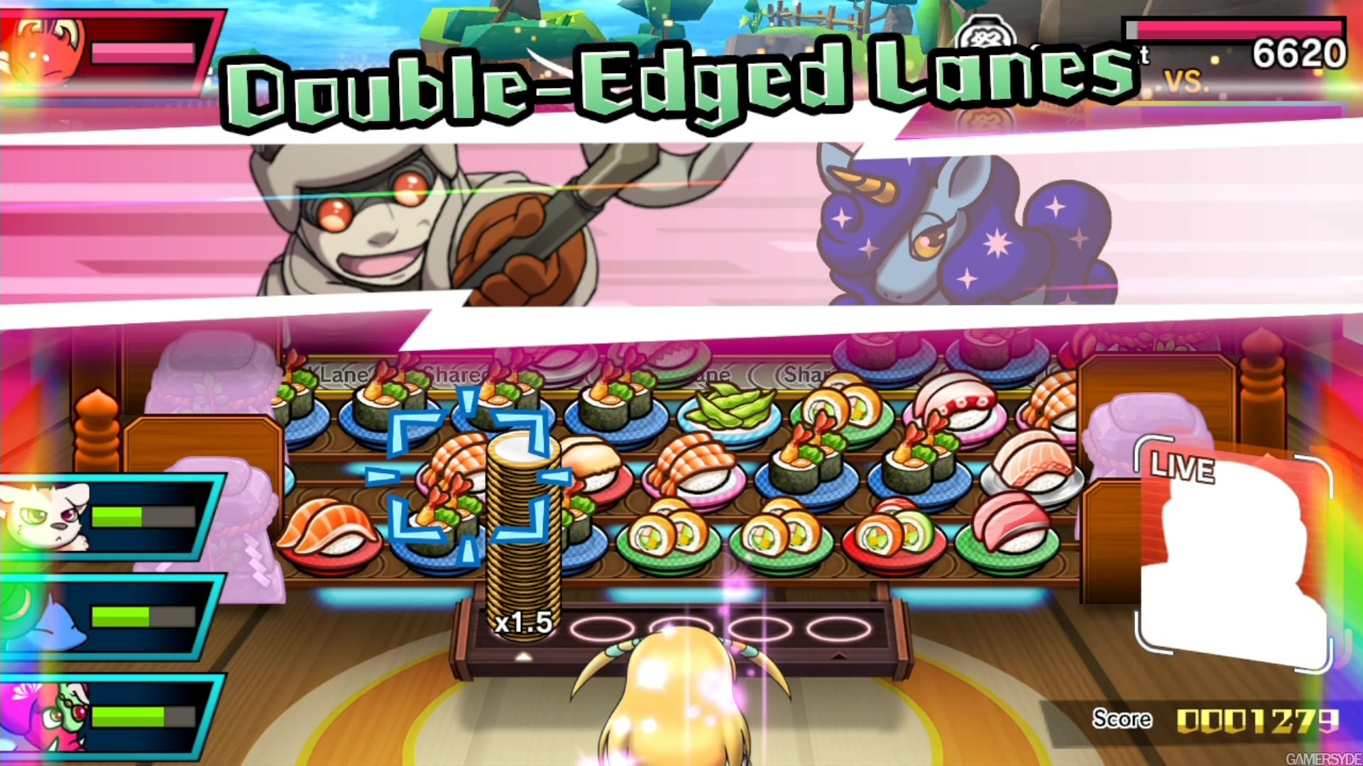 Galerie Sushi Striker The Way Of Sushido Fichier Switch 2 Animation Gameplay 1920x1080 2018 06 07 155626