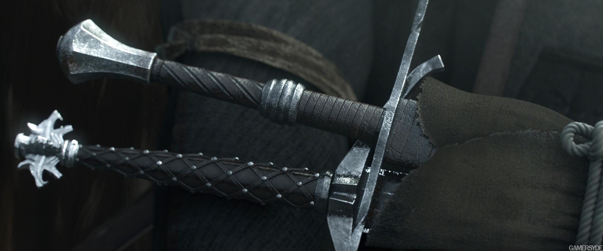 Как сделать мечи в ведьмаке 3 89