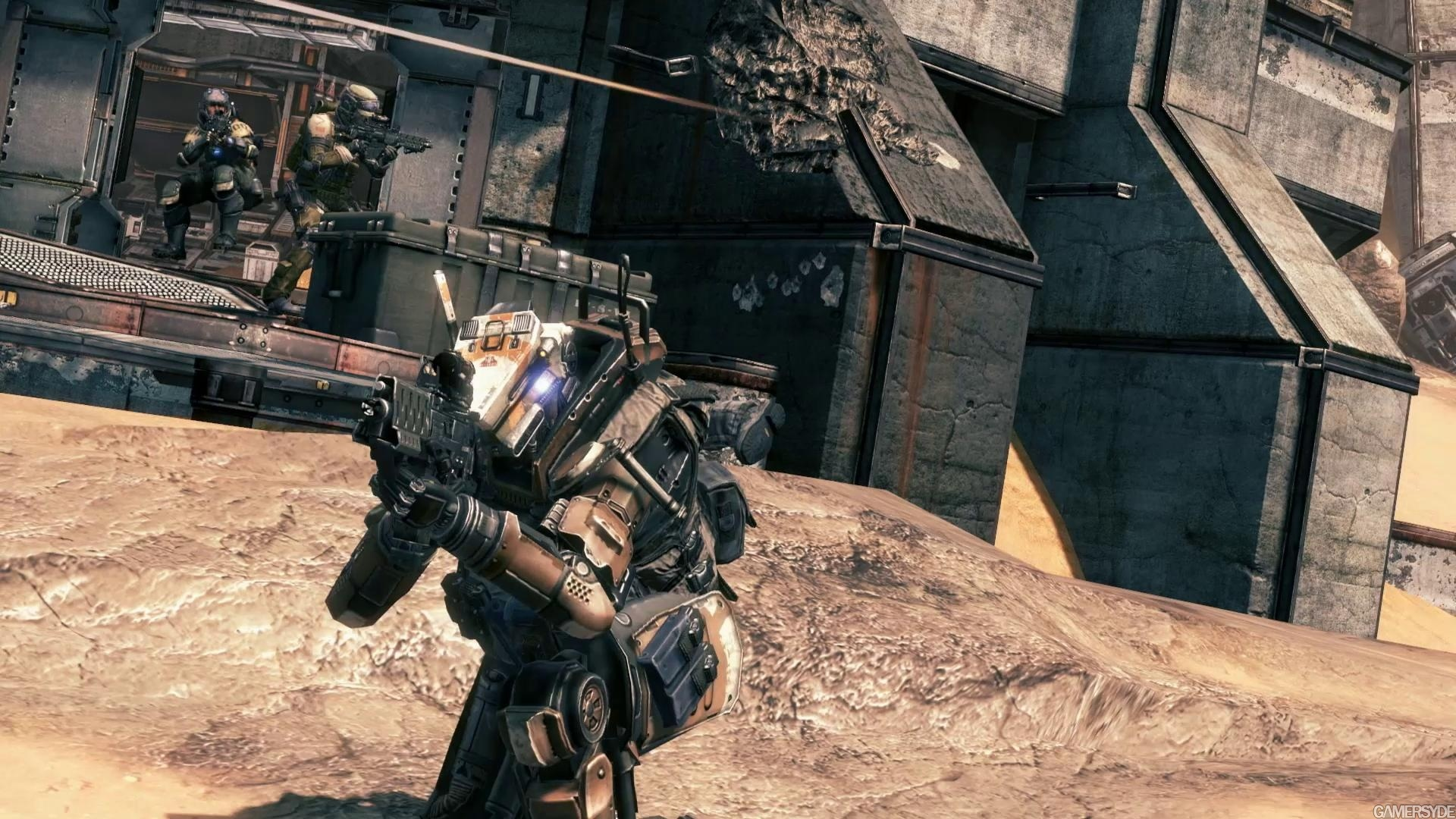 Titanfall Guns