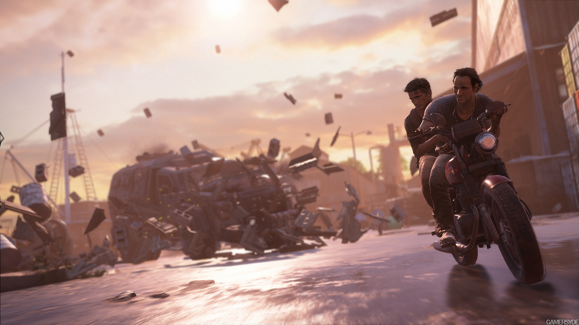 E3 Uncharted 4 Gameplay Video Gamersyde