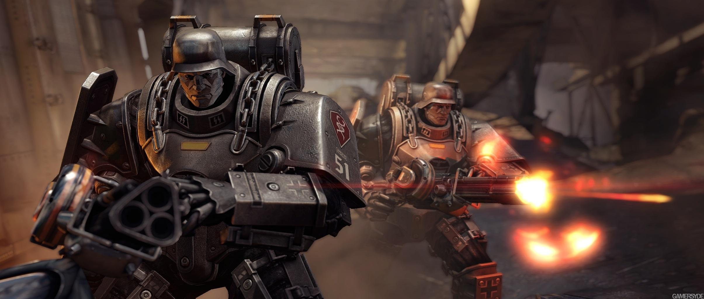 Uber Soldat (Wolfenstein The New Order) vs  Spartan III (Halo