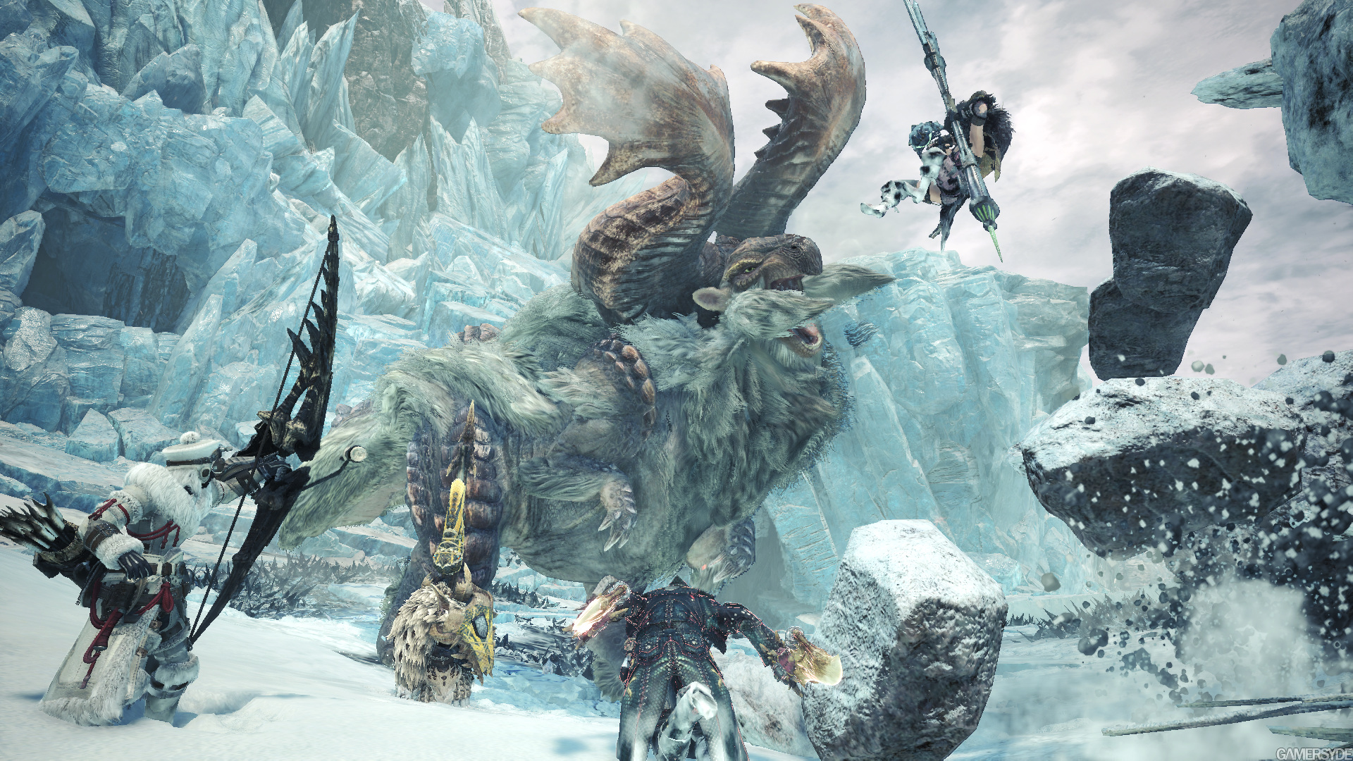 Monster Hunter World Iceborne Dlc Detailed Gamersyde