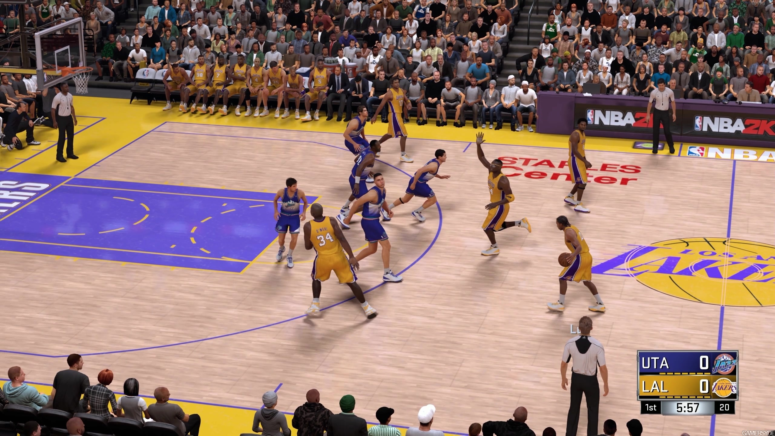 NBA 2K17 - Bulls vs Lakers - 1440p - High quality stream and download -  Gamersyde