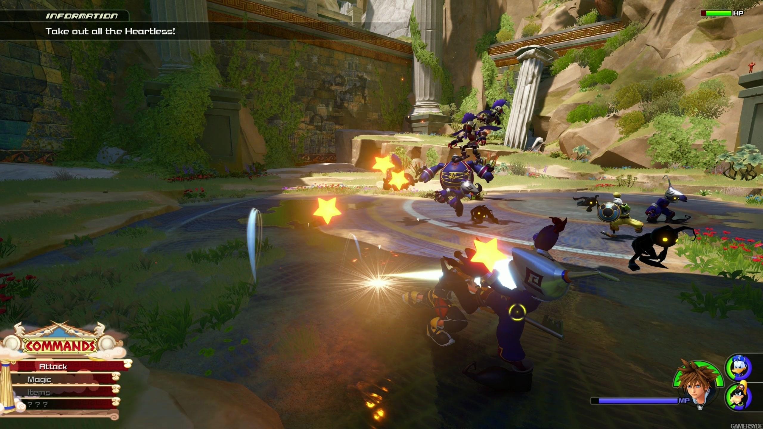 Kingdom Hearts III - Olympus #1 (XB1X/1440p)