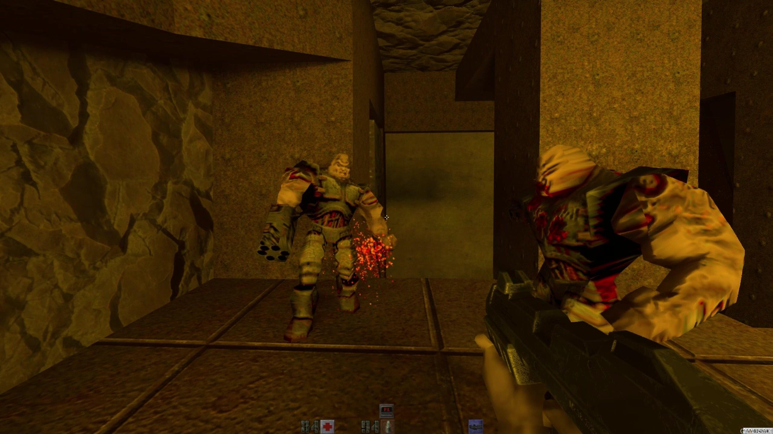 Quake II RTX - Gameplay #4 (1440p)