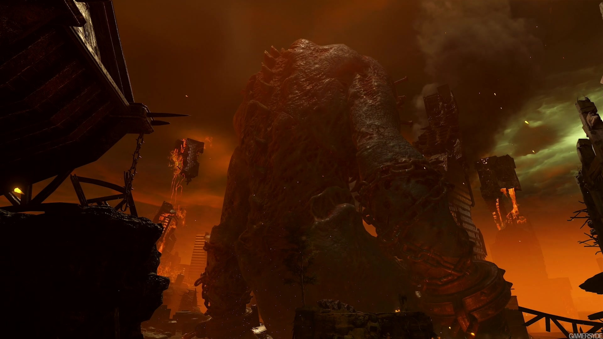 Doom Eternal Trailer High Quality Stream And Download Gamersyde