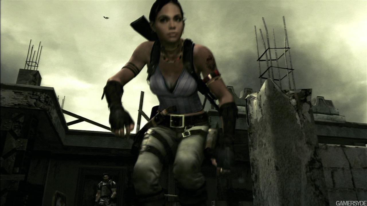 Resident Evil 5 Gc Gameplay Trailer 1 High Quality Stream And